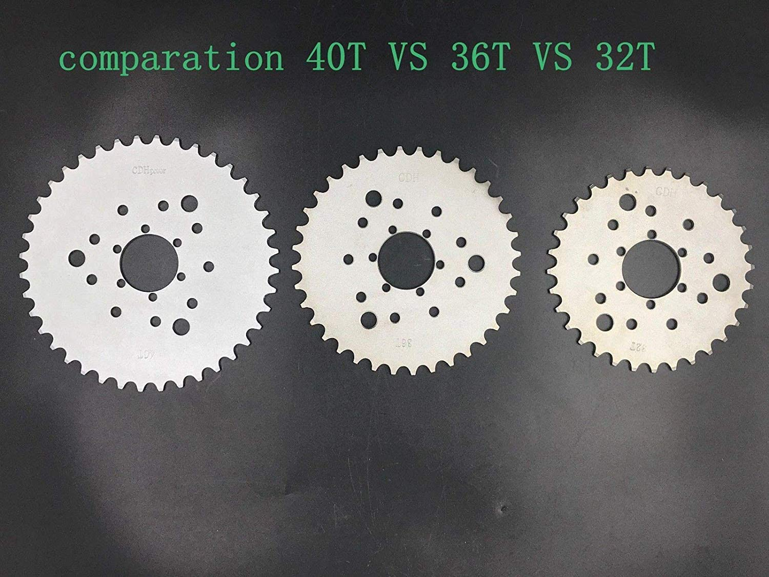 DONSP1986 Multifunctional High Performance 40 Teeth Gas Motorized Bicycle Sprocket 40t 2 Stroke and 4 Stroke Gas Motorized Bicycle