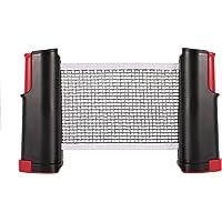 Table Tennis Net - Tenis de Mesa Ping Pong Support, Herramienta de Red retráctil para Entrenamiento
