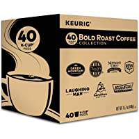 Keurig Bold Roast Coffee Collection Variety Pack, Single-Serve Coffee K-Cup Pods Sampler, 40 Count