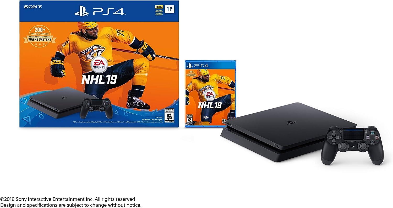 Sony PlayStation 4 1TB Slim – NHL 19 Bundle Edition