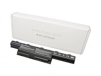 Batería 56Wh compatible para Packard Bell Model No. PEW91: Amazon.es: Electrónica