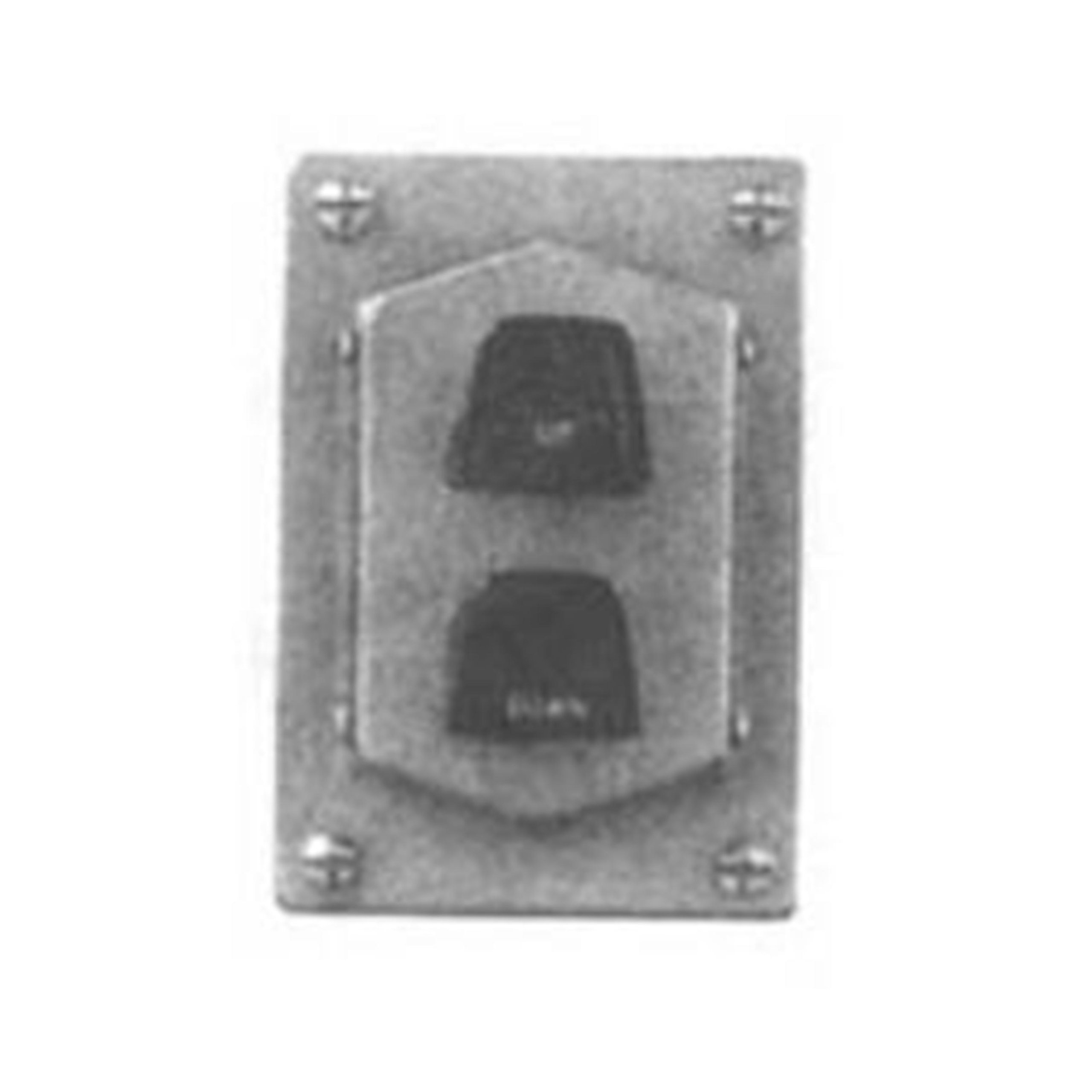 Crouse-Hinds DSD922 2-Circuit Start/Stop Front Operated Push Button Station by Crouse-Hinds