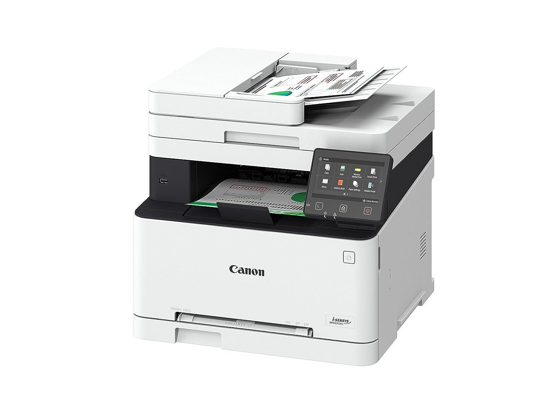 Laser, Impresi/ón a Color, 1200 x 1200 dpi, 150 Hojas, A4, Negro, Blanco Canon i-SENSYS MF633Cdw Laser 18 ppm 1200 x 1200 dpi A4 WiFi Impresora multifunci/ón