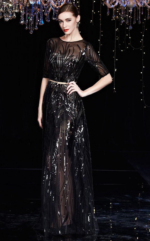 sottile cintura decorativa da donna in metallo Babeyond elasticizzata elastica