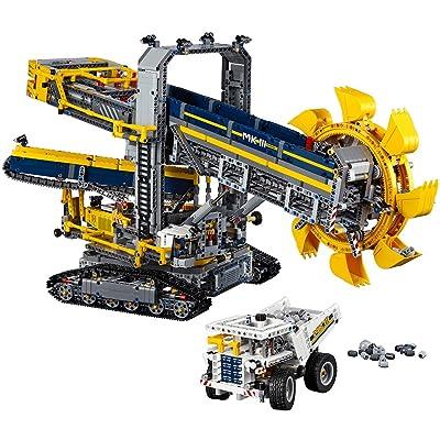 LEGO Technic Bucket Wheel Excavator 42055 Construction Toy: Toys & Games