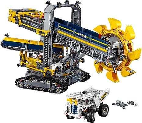 Amazon Com Lego Technic Bucket Wheel Excavator 42055 Construction Toy Toys Games