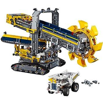 Amazon.com: LEGO Technic Bucket Wheel Excavator 42055 Construction ...