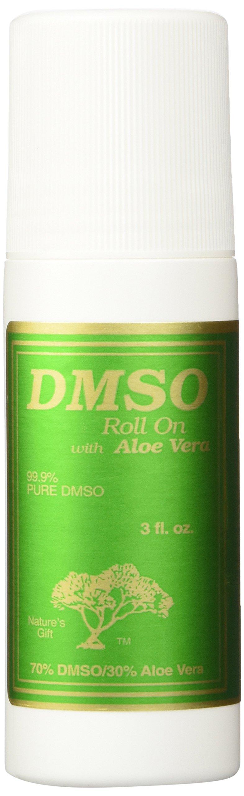 DMSO Roll On 70/30 Aloe Plast - 3 oz - Liquid