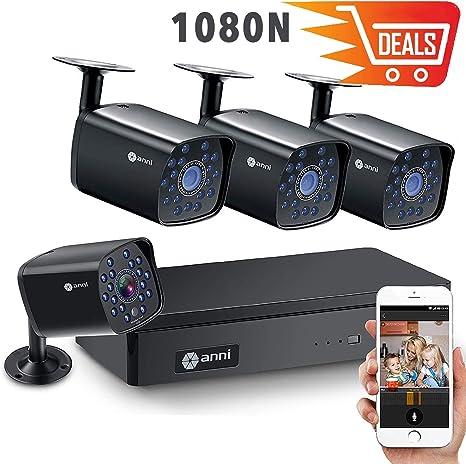 Camara de Seguridad Para el Hogar 4 Canales 1080N H.264 HDMI