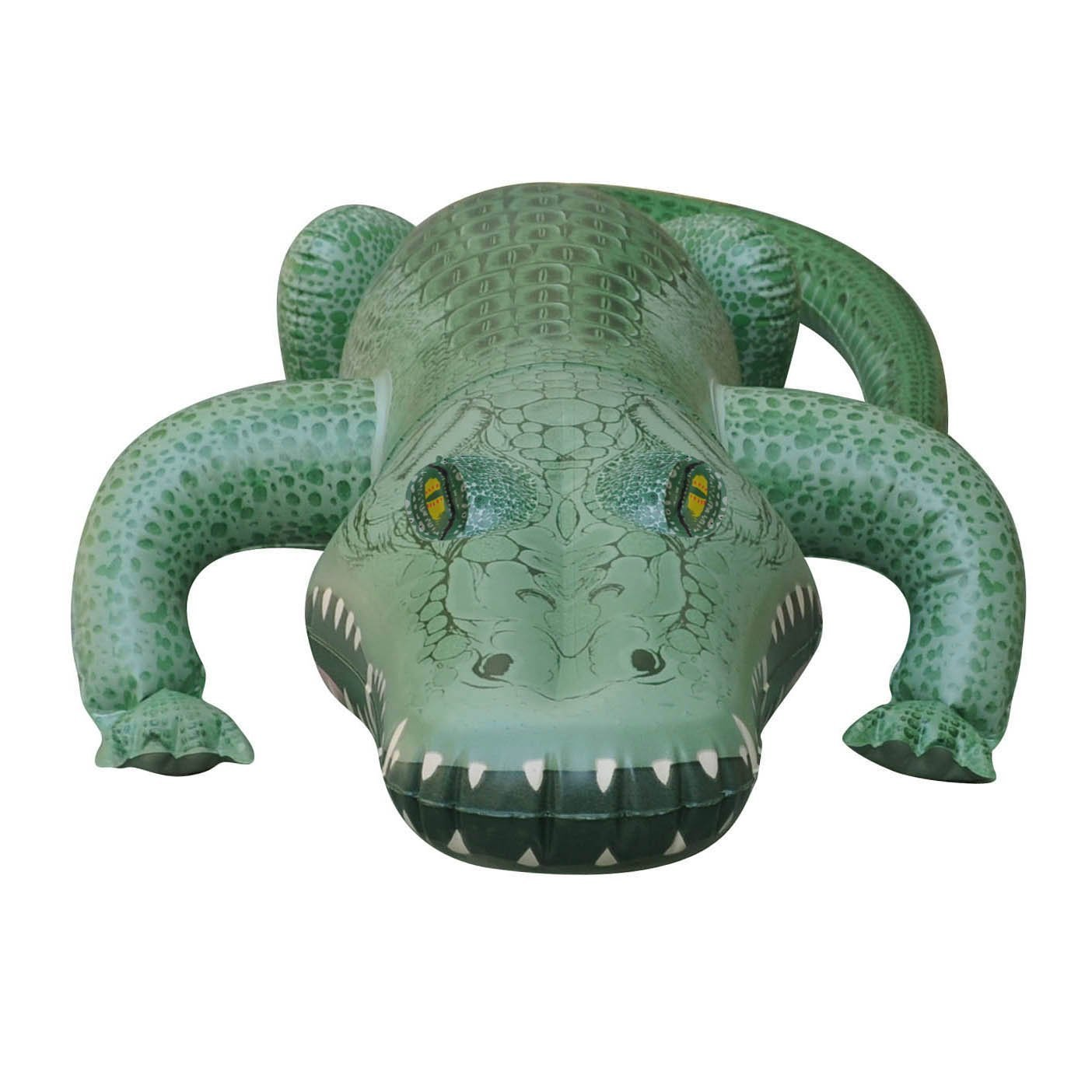 Buy 62 L X 28 W X 12 H Inflatable Crocodile Inflatable Alligator Large  Inflatable Outdoor Play Animals Toys By Jet Creations Online At Low Prices  In India ...