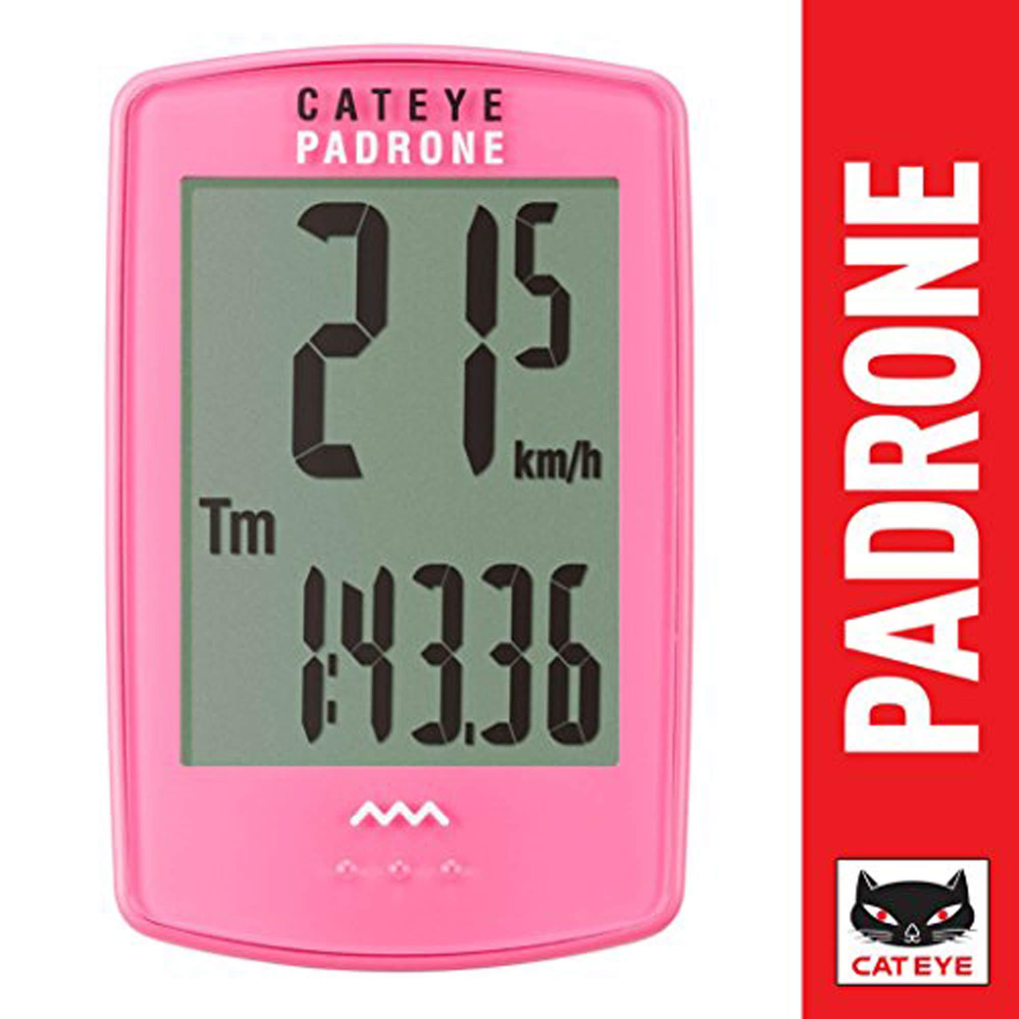 CAT EYE - Padrone Wireless Bike Computer, Pink