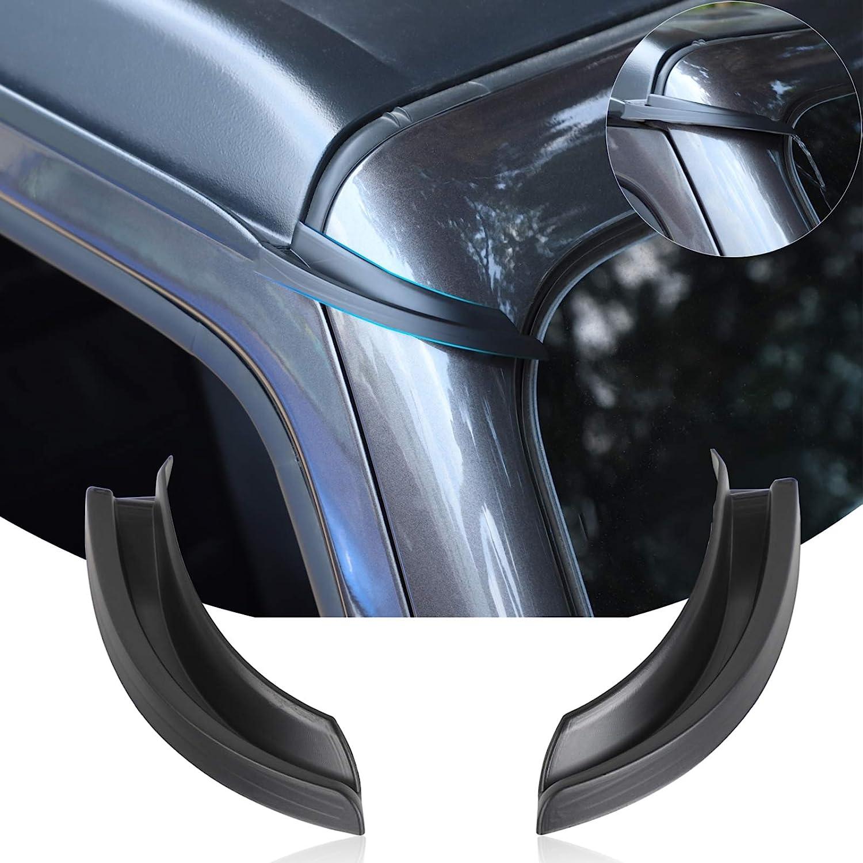 JeCar Door Sill Guards Door Entry Protectors Exterior Accessories for 2018-2021 Jeep Wrangler JL /& 2020-2021 Jeep Gladiator JT 4-Door