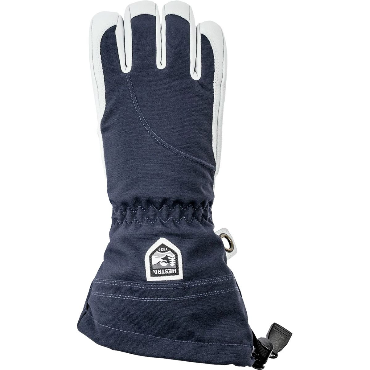 Hestra Women's Heli Gloves - Navy/Off White - 5