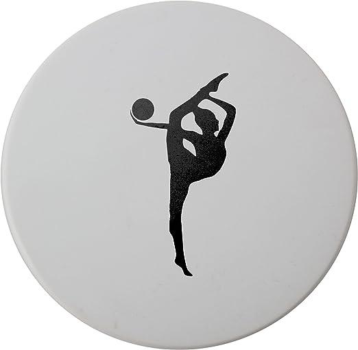 Compra Pelota de gimnasia rítmica para niña en color blanco y ...