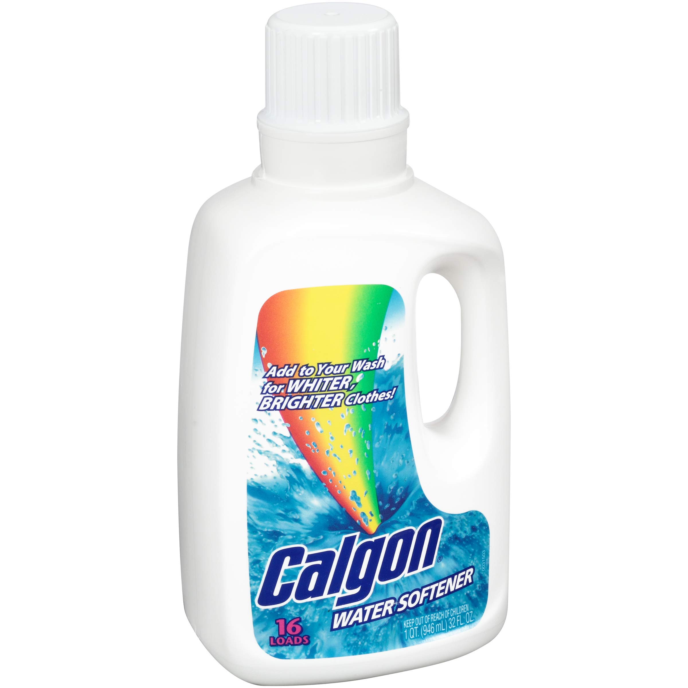 Calgon Liquid Water Softener, 32 Ounce (Pack of 6)