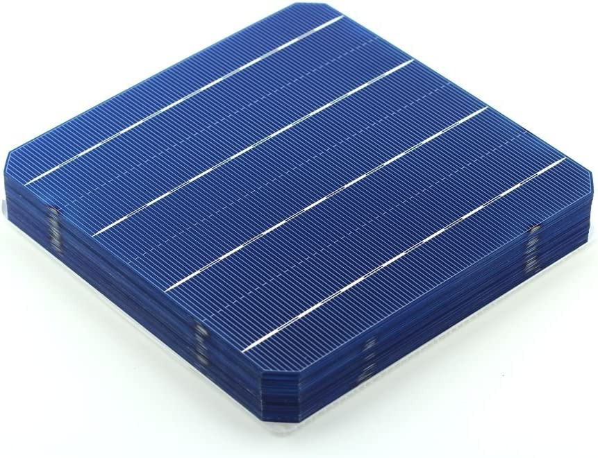 VIKOCELL 100Pcs A Grade Monocrystalline Solar Cells 6×6 for Solar Panel 500W