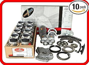 2004-2006 Ford 5.4L SOHC V8 16-Valve E-Series E150 ReRing Kit w//Full Gasket Set Rings Bearings FITS