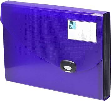 Rapesco A4 13 Compartments Purple Expanding File