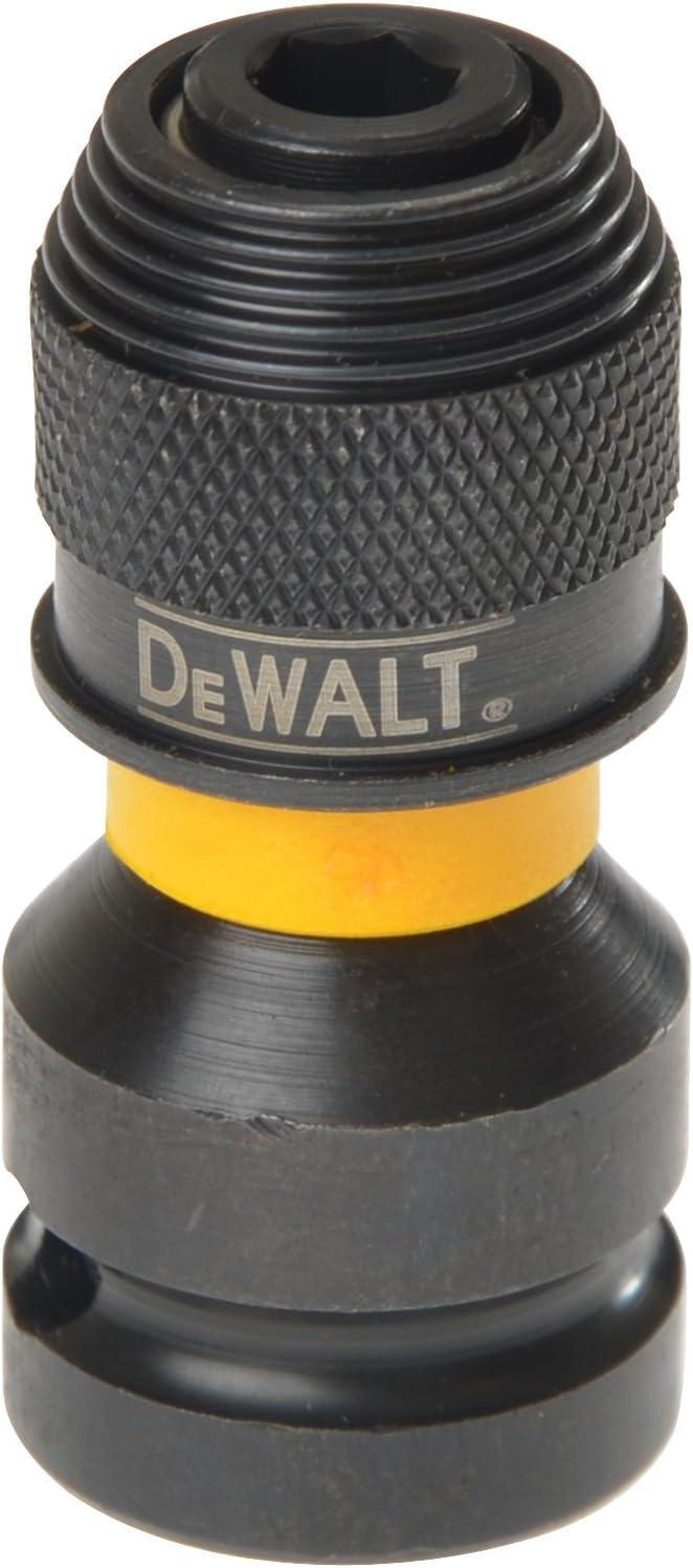 DeWalt DT7508-QZ DT7508-QZ-Adaptador para Llaves de Vaso de Impacto de 1/2