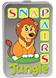 Cheatwell Games 12636 Snap & Pairs Jungle, Multicoloured