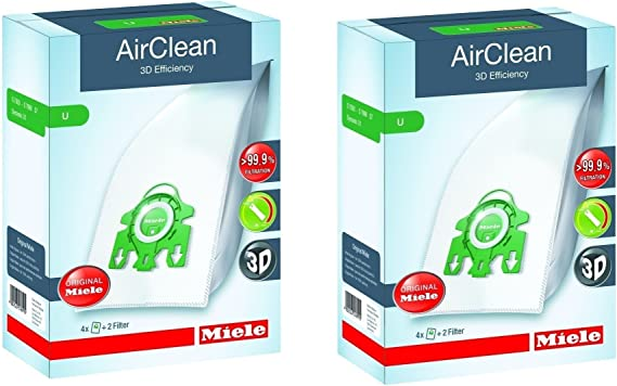 Miele Type U AirClean FilterBags