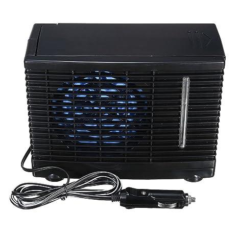 GOZAR 24V Portable Home Car Refrigerador Refrigeración Ventilador Agua Hielo Aire Acondicionado Evaporativo