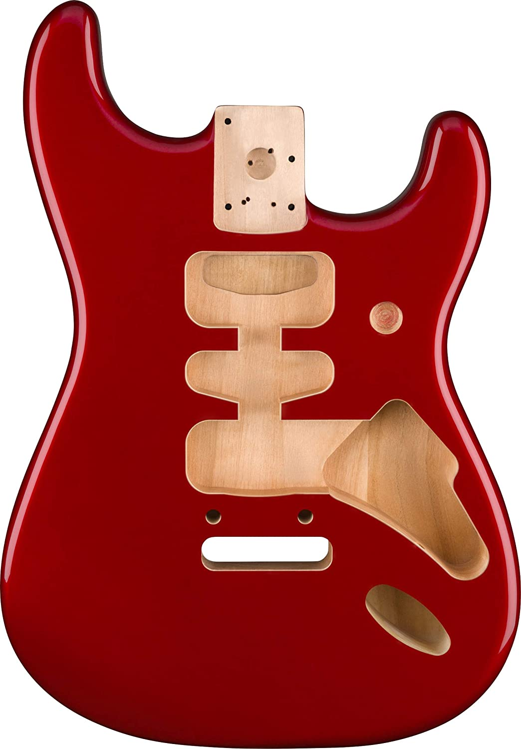 Fender Deluxe Stratocaster Body - Alder - Candy Apple Red