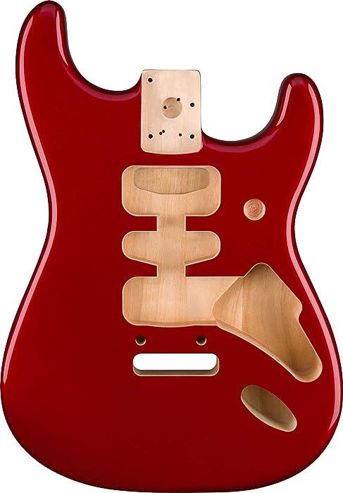 Fender Deluxe Stratocaster Body - Alder - Candy Apple Red