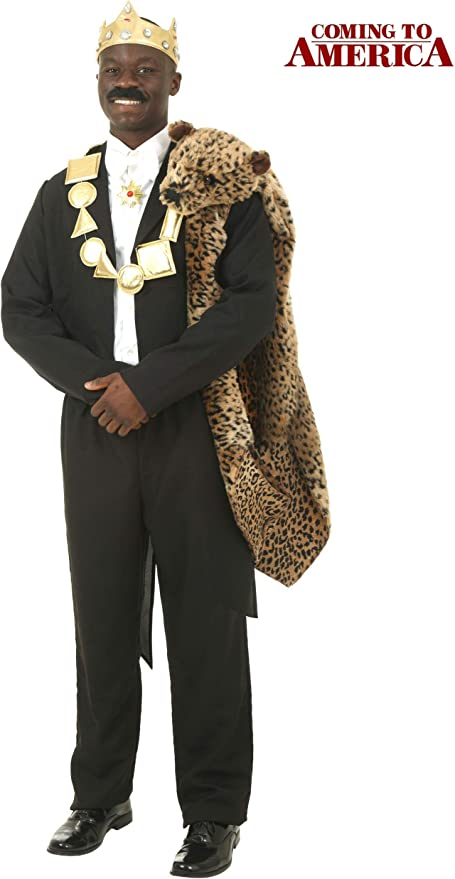 Amazon Com Coming To America Akeem Costume Clothing