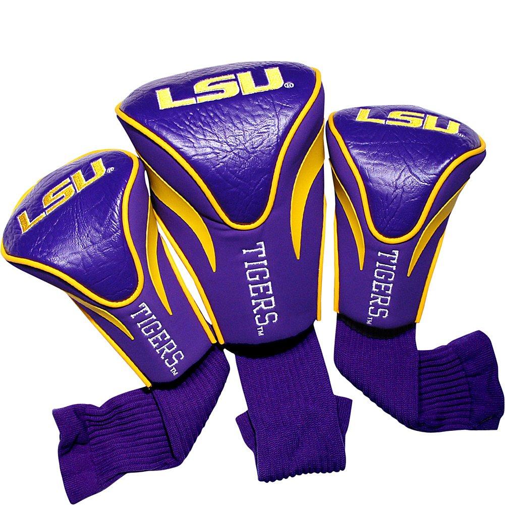 配送員設置 チームゴルフUSA LSU Louisiana State University Tigers ( ( LSU State ) 3パック輪郭ヘッドカバー チームカラー B0088IZ452, GOGOshop:4ee75e7e --- a0267596.xsph.ru