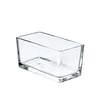 Hugo Deko rechteckiges windlicht hugo aus klarglas 15 5x8x 8cm kerzenglas
