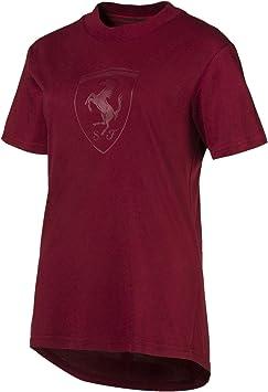 Camiseta Ferrari Puma Big Shield Tee: Amazon.es: Ropa y accesorios