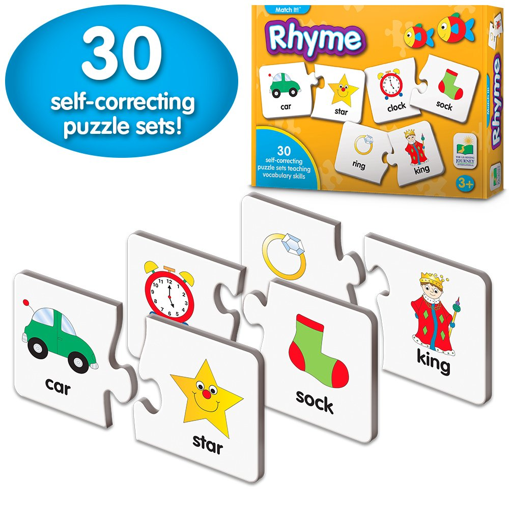 Amazon.com: The Learning Journey Match It! Rhyme: Toys & Games