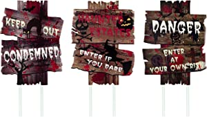 Giveaway: Anguslvy Halloween Decorations Outside Yard Signs Scary...