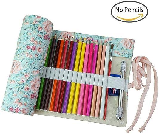 Zedo - Estuche de Fieltro para lápices, diseño Vintage, para Mujer, 36 Pavos Reales: Amazon.es: Hogar
