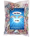 Dum Dums Lollipops 2.5 Lbs Assorted by Spangler Individually Wrapped