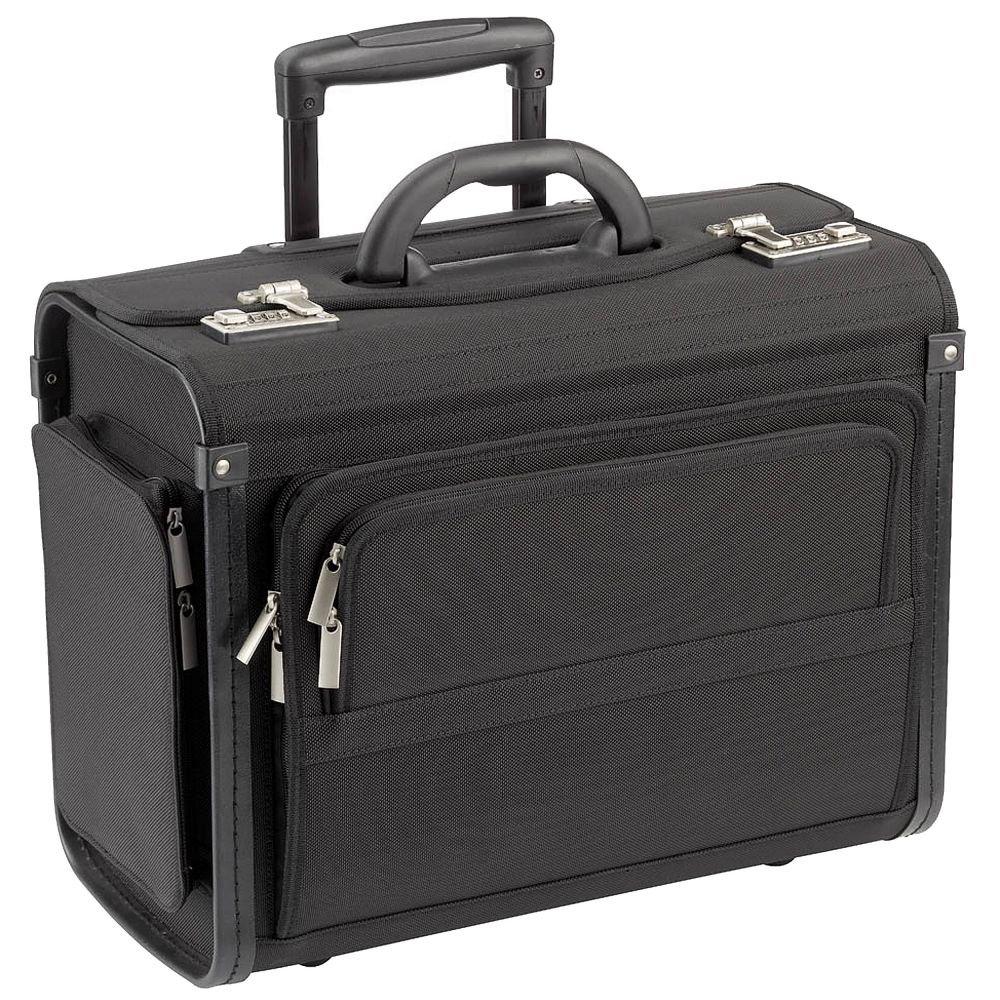 Dermata Pilotenkoffer Trolley 46 cm Laptopfach