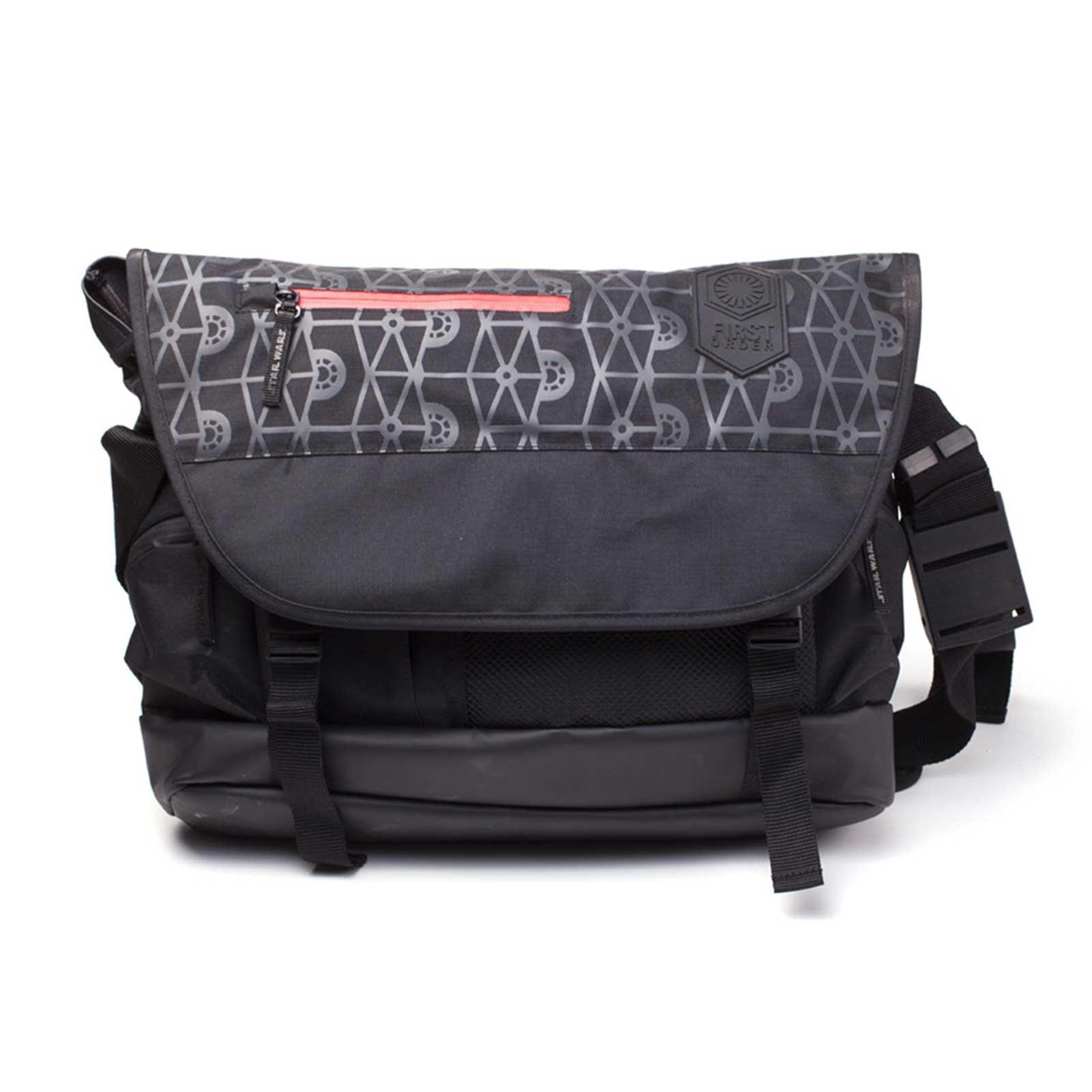 Star Wars Messenger Bag First Order Logo Inspired Official Black