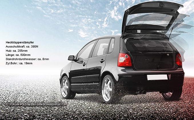 2/x Muelle neum/ático Sordina Amortiguador de gas trasero lappe Hatchback