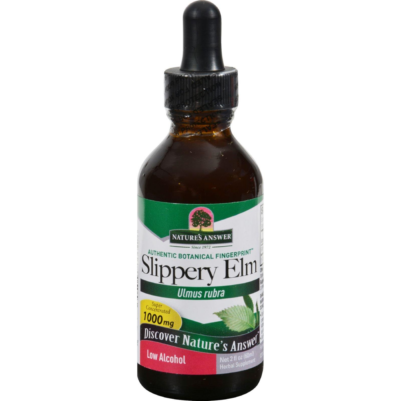 Nature's Answer - Slippery Elm Inner Bark, 1000mg, 2 fl oz liquid