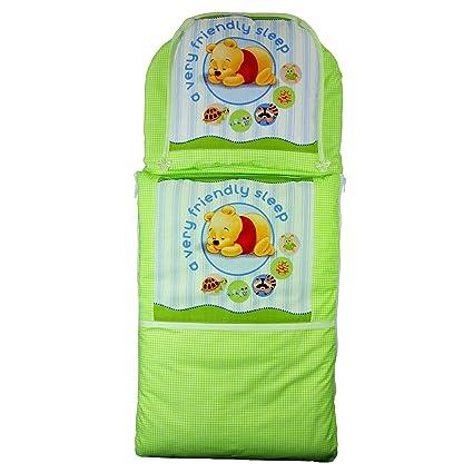 Saco + cojín para cochecito Moisés Cuna cochecito funda Saco de dormir Baby Saco (verde