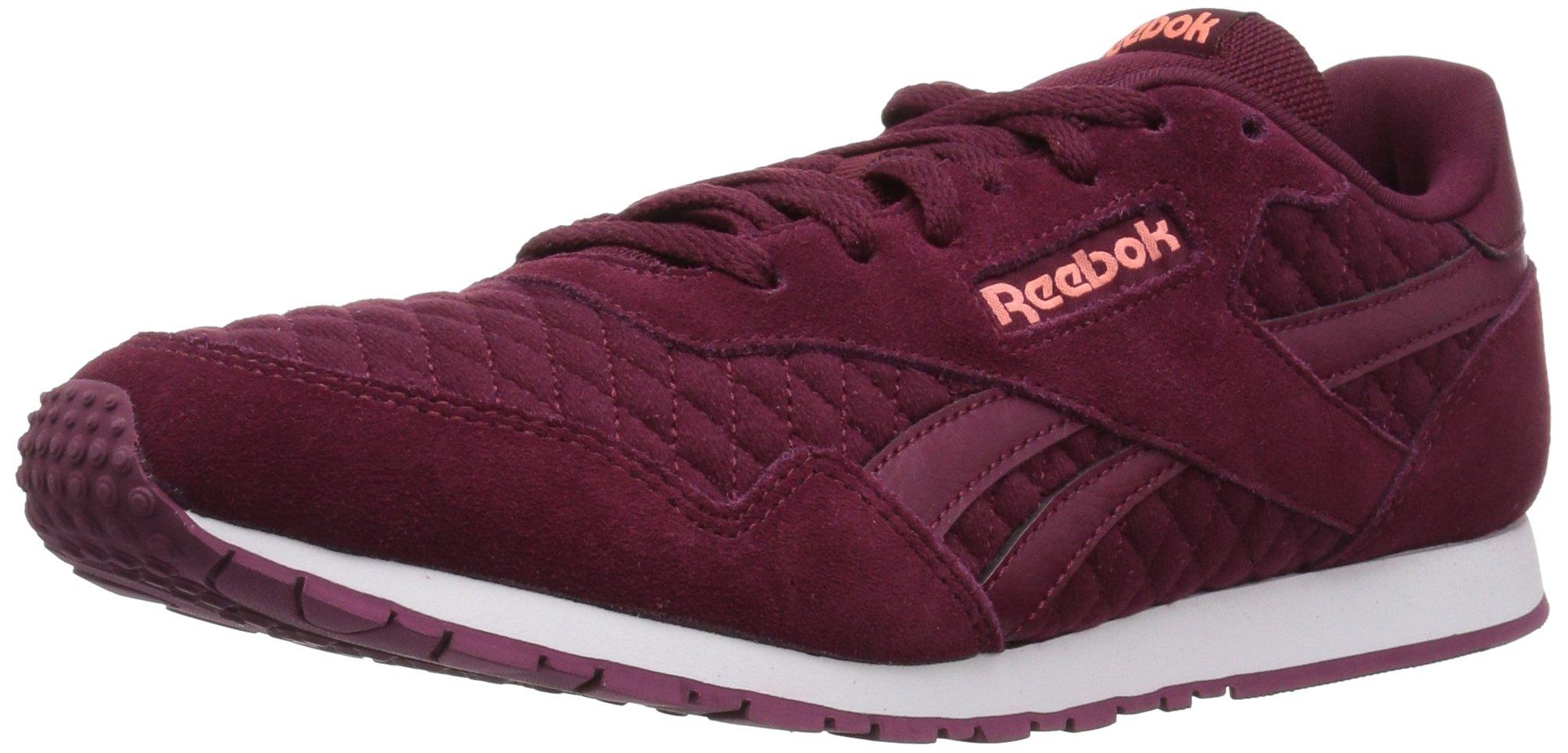 Reebok Women's Royal Ultra Walking Shoe, Rustic Wine/Digital Pink, 10 M US