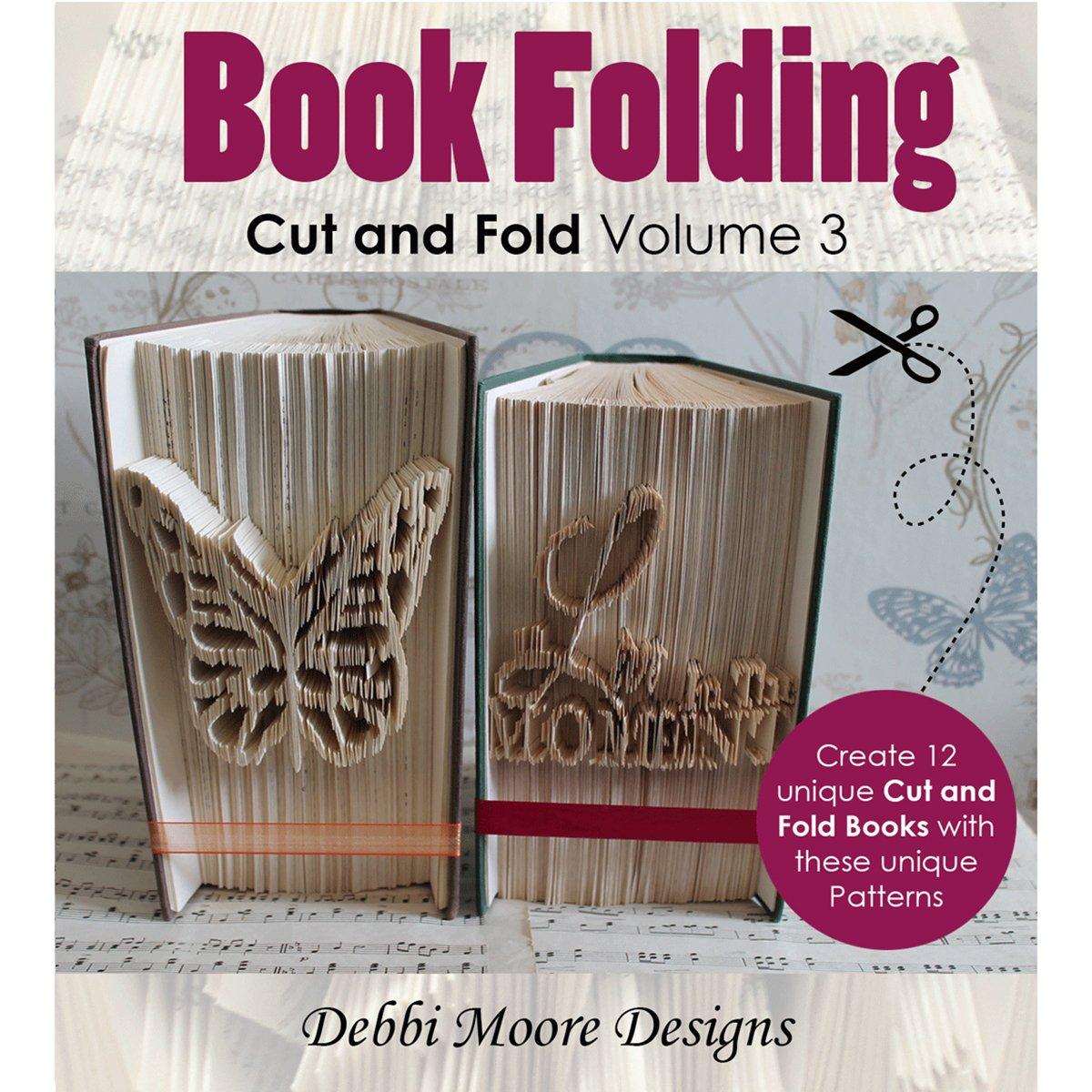 Mini Lower Times New Roman Alpha 4A Debbi Moore Designs CDSET422 Debbi Moore CD ROM Cut /& Fold Book Folding Patterns