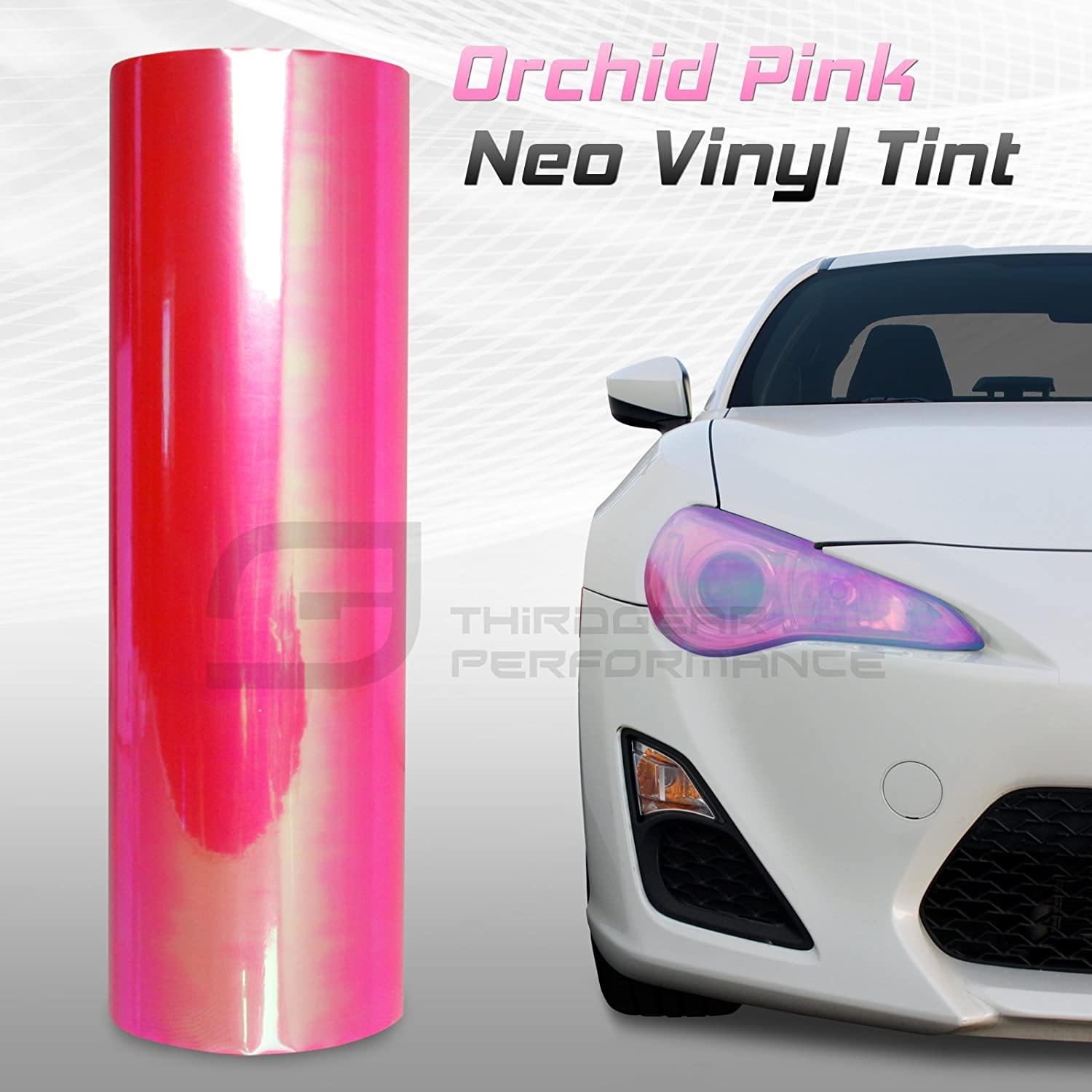 Optix Chameleon Neo Chrome Headlight Fog Light Taillight Vinyl Tint Film 12x24 in 1x2 Ft Dark Blue