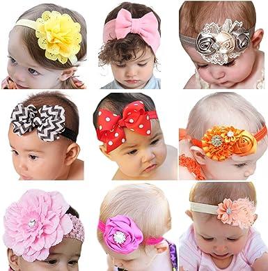 3 inch Baby Rhinestone Bow Headbands Girls Headband Kids Hair band Accessories