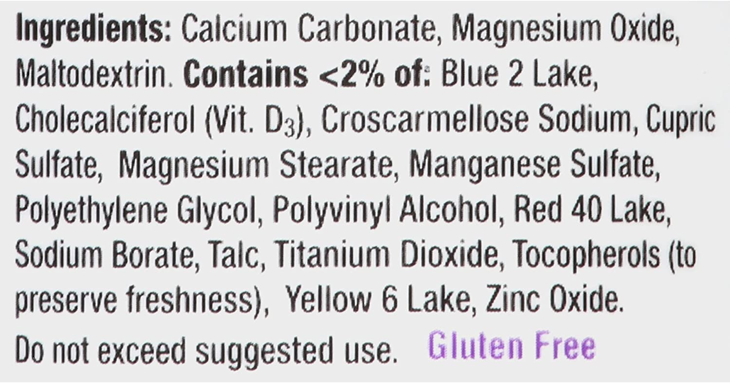 Caltrate 600+D3 Plus Minerals (165 Count) Calcium & Vitamin D3 Supplement Tablet, 600 mg: Health & Personal Care