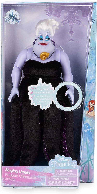 Muneca oficial de 27 cm La sirenita Ursula cantando 27cm: Amazon ...