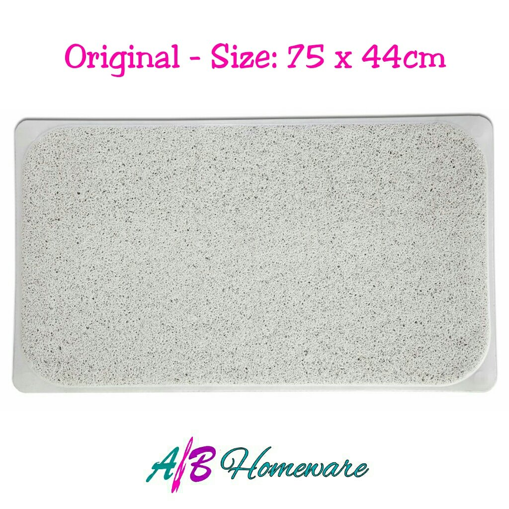 A&B HOMEWARE LARGE LOOFAH NON SLIP HYDRO SHOWER BATH MAT FOR SHOWERS BATH AND WATER AREA HYGIENE MOULD AND STAIN RESISTANT A&B HOMEWARE®