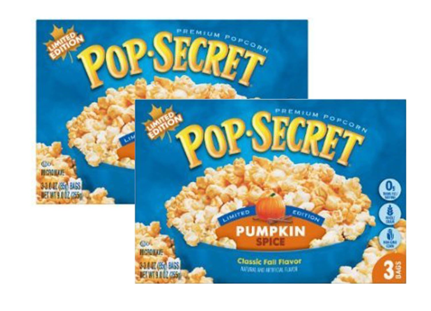 Pop Secret Pumpkin Spice Popcorn (2 pack) | Limited edition by Red35 Products
