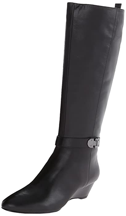 Amazon.com | Bandolino Women's Adanna Leather Riding Boot | Knee-High